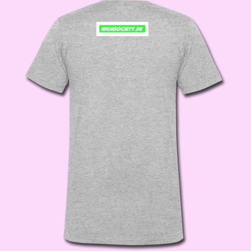Highsociety.de - Männer Bio-T-Shirt mit V-Ausschnitt von Stanley & Stella