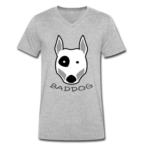 BADDOG - T-shirt bio col V Stanley & Stella Homme