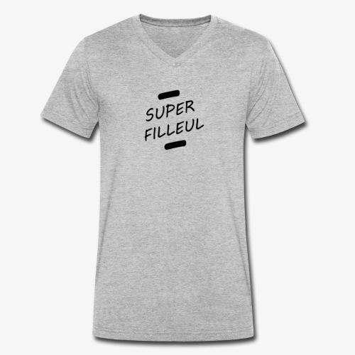 Super Filleul - T-shirt bio col V Stanley & Stella Homme