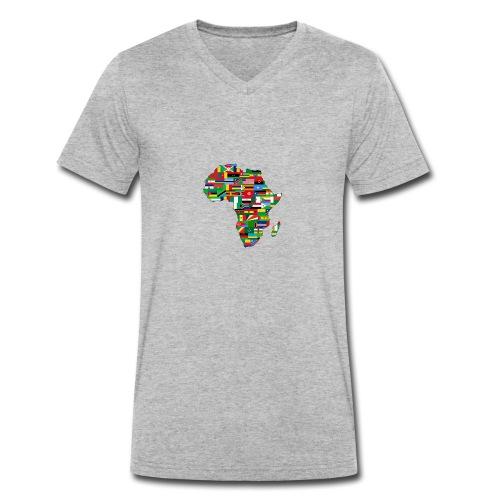 mama africa - T-shirt bio col V Stanley & Stella Homme