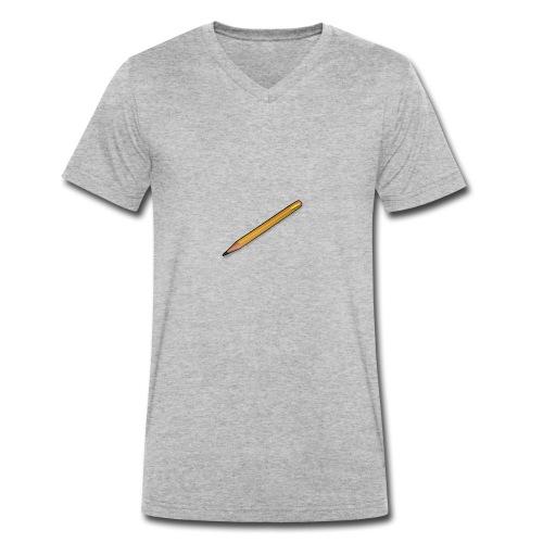 GUMMIPENNA - Ekologisk T-shirt med V-ringning herr från Stanley & Stella