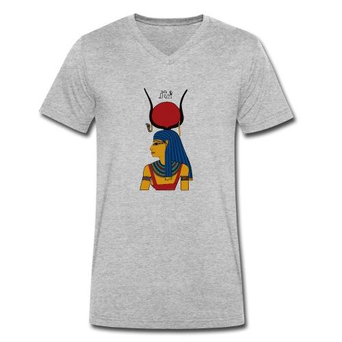Isis - altägyptische Göttin - Männer Bio-T-Shirt mit V-Ausschnitt von Stanley & Stella