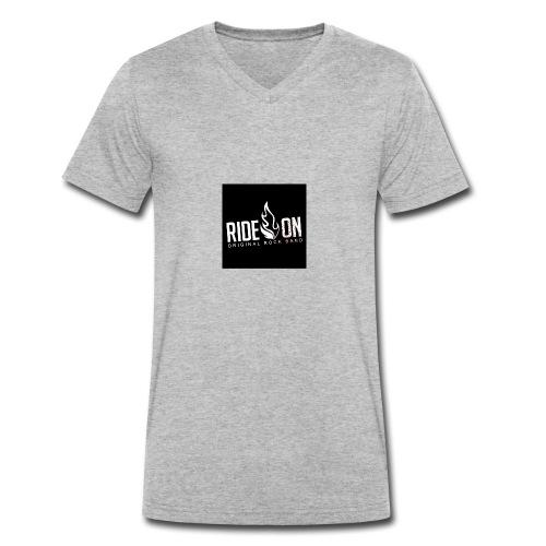 Ride On - T-shirt ecologica da uomo con scollo a V di Stanley & Stella