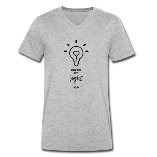 you are my light - T-shirt bio col V Stanley & Stella Homme