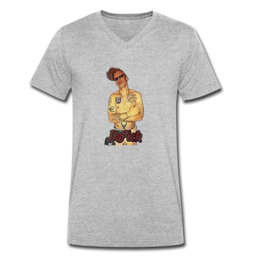 PicsArt 04 10 10 43 25 - T-shirt bio col V Stanley & Stella Homme