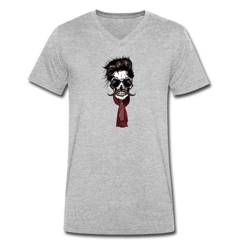 tete de mort hipster crane foulard echarpe skull m - T-shirt bio col V 8465e2a225a
