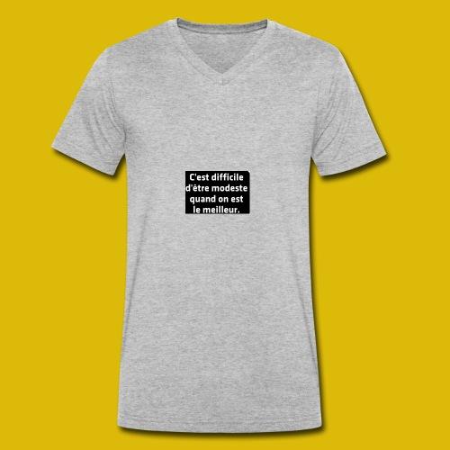 PAR FEE - T-shirt bio col V Stanley & Stella Homme