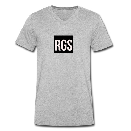 RGS_Profile_Logo - Men's Organic V-Neck T-Shirt by Stanley & Stella