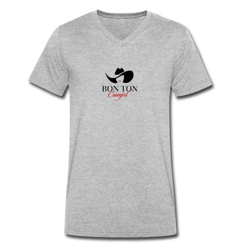 Bon Ton - T-shirt ecologica da uomo con scollo a V di Stanley & Stella