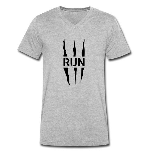 Run Scratch - T-shirt bio col V Stanley & Stella Homme