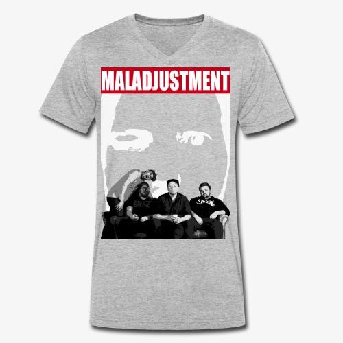 Maladjustment | Band - Männer Bio-T-Shirt mit V-Ausschnitt von Stanley & Stella