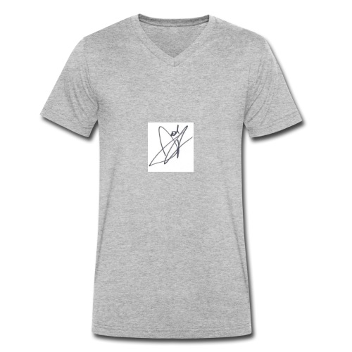 Tshirt - Men's Organic V-Neck T-Shirt by Stanley & Stella