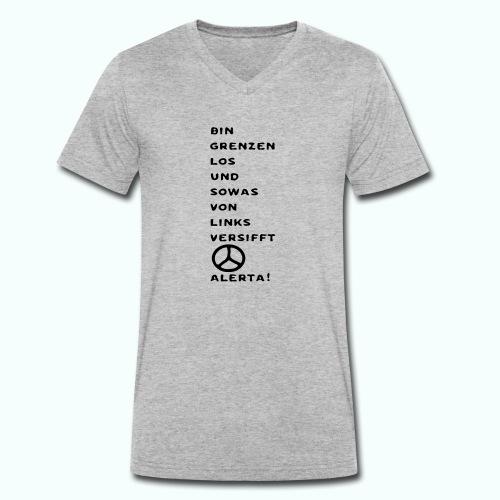 linksversifft - Men's Organic V-Neck T-Shirt by Stanley & Stella