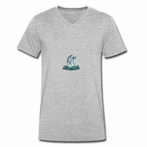 ag logo - Männer Bio-T-Shirt mit V-Ausschnitt von Stanley & Stella