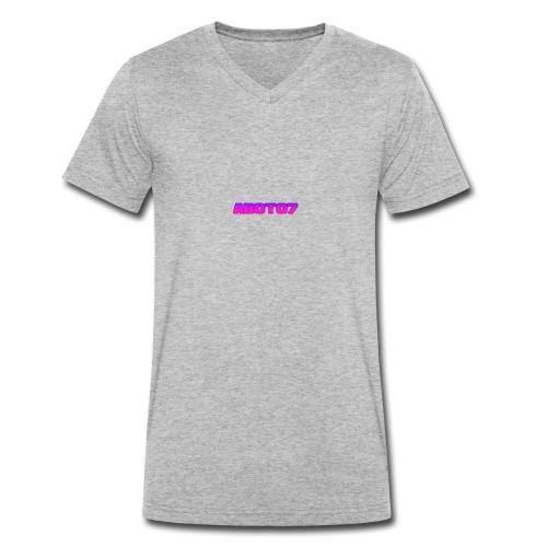 Abot07 - Ekologisk T-shirt med V-ringning herr från Stanley & Stella