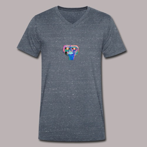 transience - Men's Organic V-Neck T-Shirt by Stanley & Stella