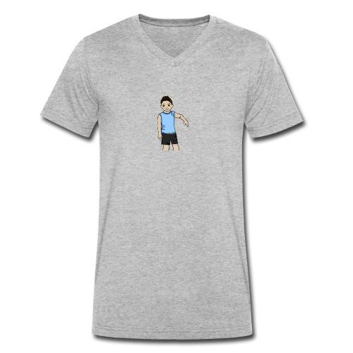 OfirGaming HD logo - Men's Organic V-Neck T-Shirt by Stanley & Stella