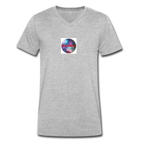 Gielverberckmoes - Mannen bio T-shirt met V-hals van Stanley & Stella
