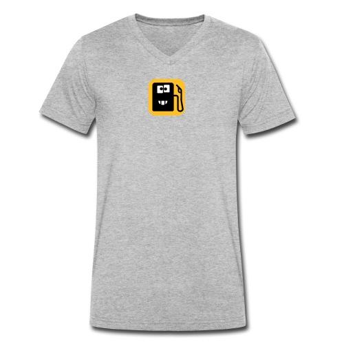 TankBillig Logo - Männer Bio-T-Shirt mit V-Ausschnitt von Stanley & Stella
