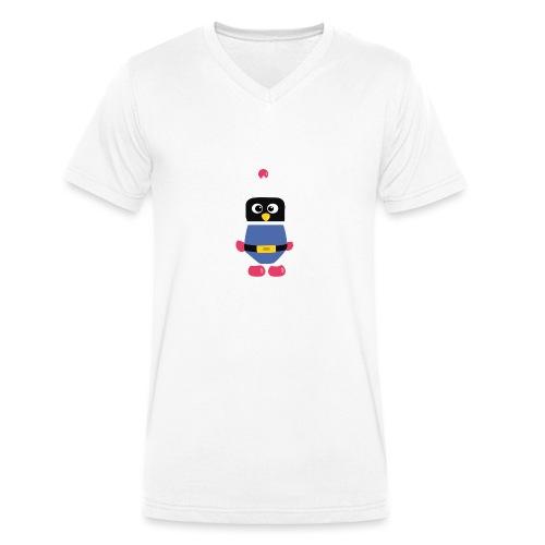 Pingouin Dyna - T-shirt bio col V Stanley & Stella Homme