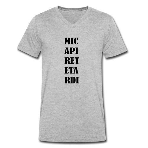 MI CAPIRETE - T-shirt ecologica da uomo con scollo a V di Stanley & Stella