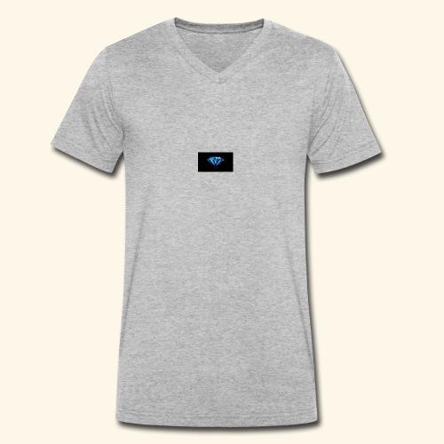 Diamond Premium - Männer Bio-T-Shirt mit V-Ausschnitt von Stanley & Stella