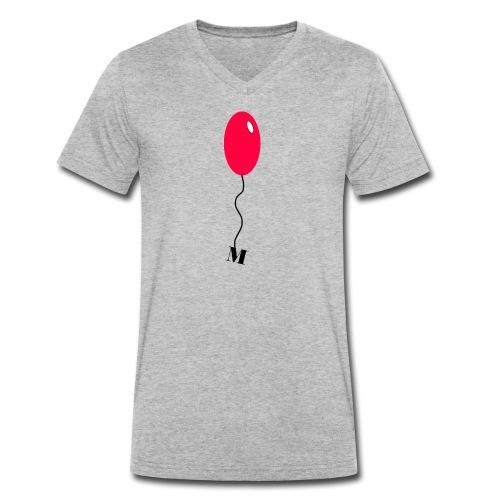 Mind Balon - Männer Bio-T-Shirt mit V-Ausschnitt von Stanley & Stella