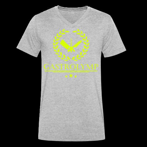 Gastrolymp - Männer Bio-T-Shirt mit V-Ausschnitt von Stanley & Stella