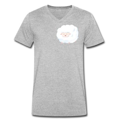 Sheep - T-shirt ecologica da uomo con scollo a V di Stanley & Stella