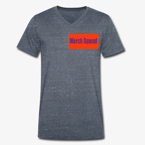 my merch sqwad - Men's Organic V-Neck T-Shirt by Stanley & Stella