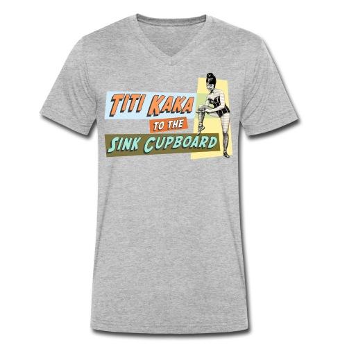 titikaka shirt1 trans - Mannen bio T-shirt met V-hals van Stanley & Stella