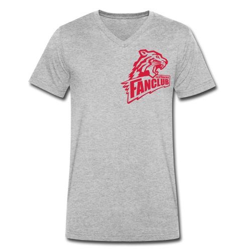 logofin - Männer Bio-T-Shirt mit V-Ausschnitt von Stanley & Stella