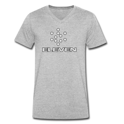 Eleven - Männer Bio-T-Shirt mit V-Ausschnitt von Stanley & Stella