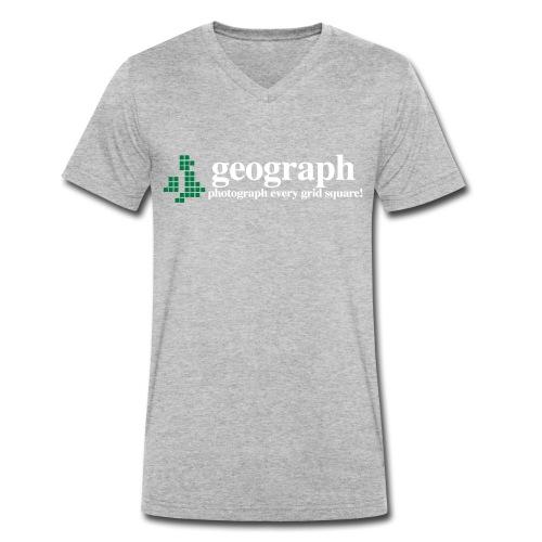 Geograph Britain&Ireland - Men's Organic V-Neck T-Shirt by Stanley & Stella