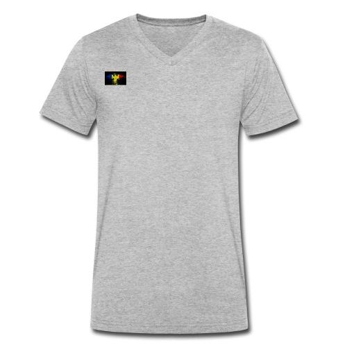 Rumänien - Männer Bio-T-Shirt mit V-Ausschnitt von Stanley & Stella