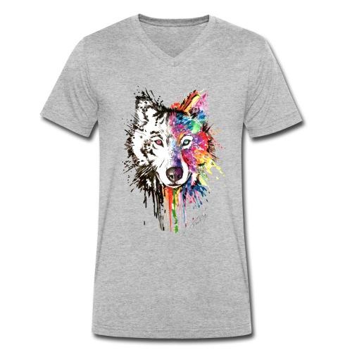 David Pucher Art - Männer Bio-T-Shirt mit V-Ausschnitt von Stanley & Stella
