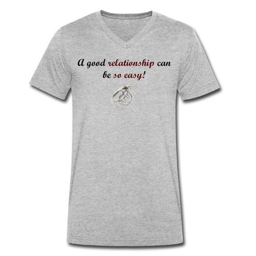 domsub-clothing.com - Men's Organic V-Neck T-Shirt by Stanley & Stella