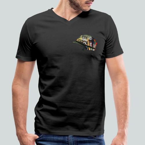 Born to teach - AAS - T-shirt bio col V Stanley & Stella Homme