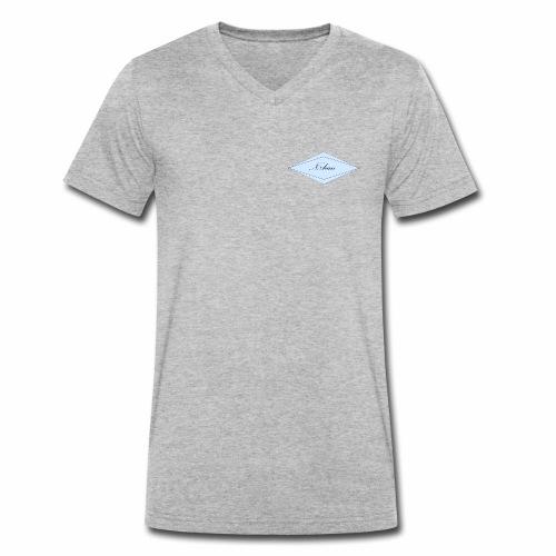 N8han - Mannen bio T-shirt met V-hals van Stanley & Stella