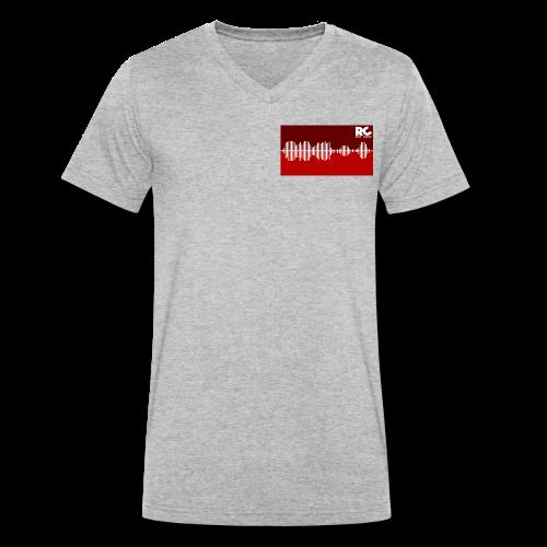 Amplitude Edition - Männer Bio-T-Shirt mit V-Ausschnitt von Stanley & Stella
