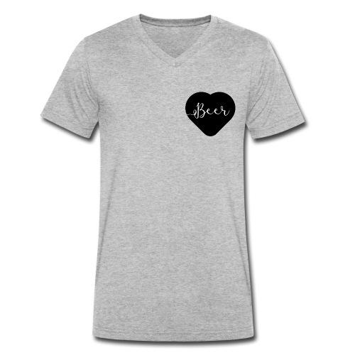 I love beer - T-shirt bio col V Stanley & Stella Homme