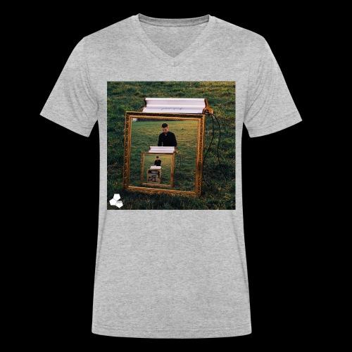 Hybrid Shirt jpg - Men's Organic V-Neck T-Shirt by Stanley & Stella