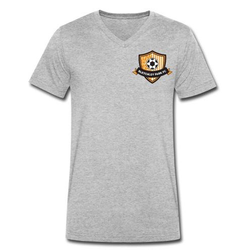 BPFC Badge - Men's Organic V-Neck T-Shirt by Stanley & Stella