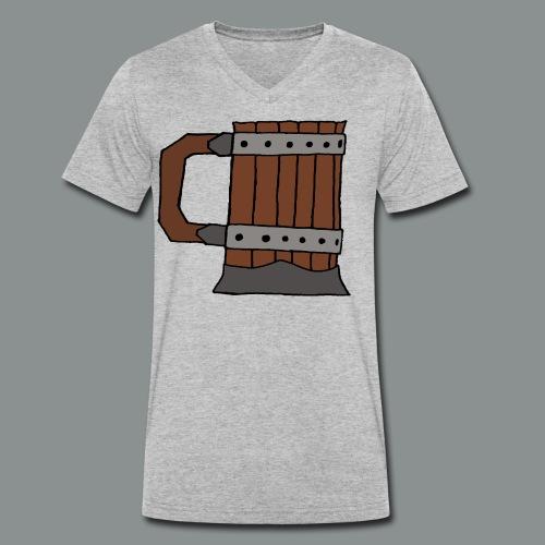chope, peinte, bière, taverne, geek, jeu de rôle - T-shirt bio col V Stanley & Stella Homme