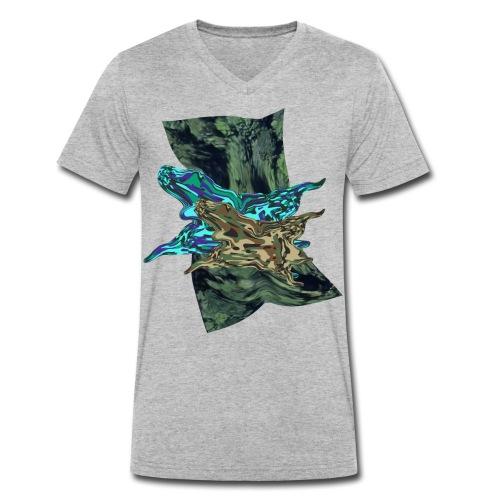 nues shirt 2017-12 Kopie - Männer Bio-T-Shirt mit V-Ausschnitt von Stanley & Stella