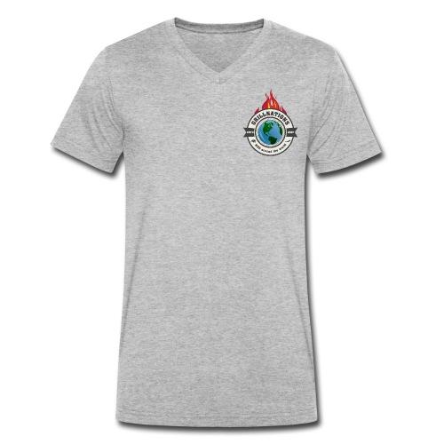 grillnations - Männer Bio-T-Shirt mit V-Ausschnitt von Stanley & Stella
