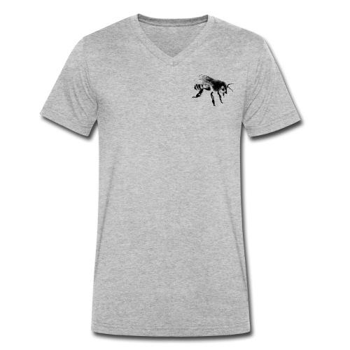 Honungsbi - Ekologisk T-shirt med V-ringning herr från Stanley & Stella