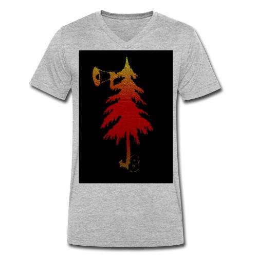 t shirt4 Kopie jpg - Männer Bio-T-Shirt mit V-Ausschnitt von Stanley & Stella