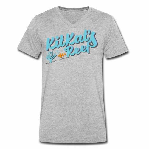 KitKat's Reef - Men's Organic V-Neck T-Shirt by Stanley & Stella