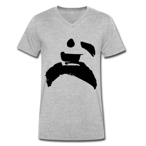 kung fu - Men's Organic V-Neck T-Shirt by Stanley & Stella